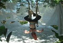 sensual antigravity dance on inversion therapy yogaswing popscreen