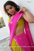 Telugu Girl Showing Hot Navel
