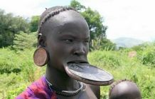 lip plates, which can be found in Africa, America and Amazon  Lip