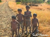 Kids at Rajmachi Village � Lonavala