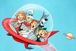 The Jetsons Flying Car, from the HannaBarbera cartoon