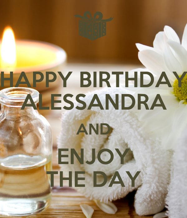 Alessandra Happy Birthday