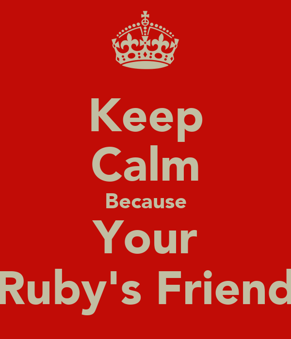 Ruby Friend