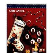 Abby Angel Cross Stitch Pattern Book | EBay