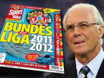 Im neuen BundesligaSonderheft von SPORT BILD: Franz Beckenbauer warnt