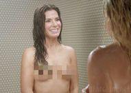 Sandra Bullock topless on Chelsea Lately