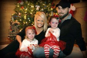 Teen Mom 2 Corey Simms fiance Miranda Patterson and daughters Ali and