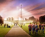 Called FCB Youngster Campus, the rectangular building will feature an