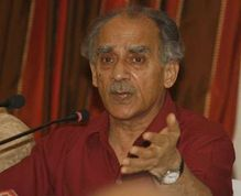Senior leader Arun Shourie attacked the BJP party leadership  Pankaj