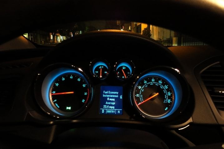 Electric Blue 12 Mpg