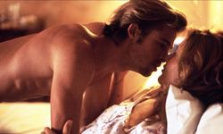 Perefect symmetry: Brad Pitt and Geena Davis in Thelma and Louise