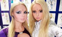 Rise of the living doll: 'Barbie flu' takes hold in Ukrainian city of
