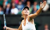 Maria Sharapova Of Russia Returns To Her Patriot Anna Chakvetadze