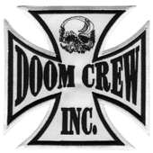 Black Label Society Large Doom Crew Iron Cross Patch | Shop The