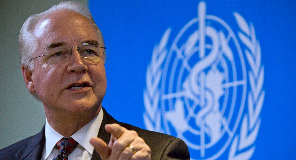 Tom Price to halt taxpayer-funded travel on private jets - Politico