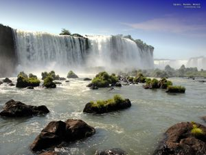 Waterfall Desktop Background - right click and choose - set as