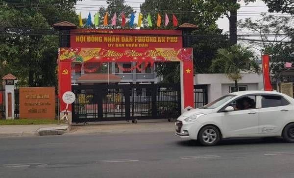 Trụ sở UBND phường An Phú, nơi người đàn ông đem trả 100 triệu và gửi bức thư xin lỗi. Ảnh: Tuổi Trẻ