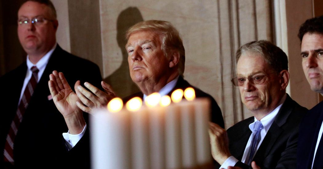 Trump Takes Forceful Tone at Holocaust Remembrance: 'Never Again' - New York Times