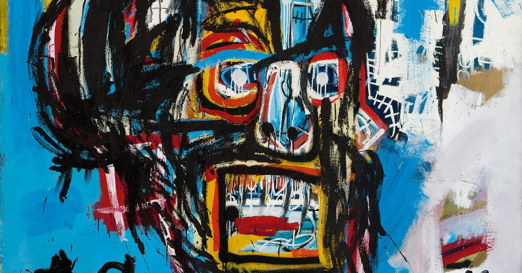 Basquiat Painting Is Sold for $110.5 Million at Auction