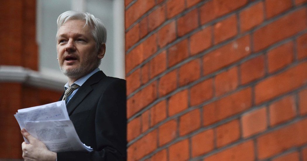 Julian Assange Rape Investigation Is Dropped in Sweden - New York Times