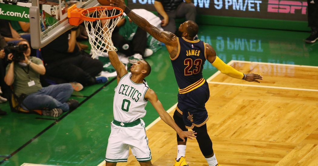 Bring On the Monstars: Another Rout Shows LeBron James Is on Jordan's Level - New York Times