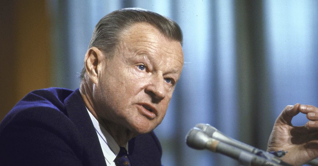 Zbigniew Brzezinski, National Security Adviser to Jimmy Carter, Dies at 89 - New York Times