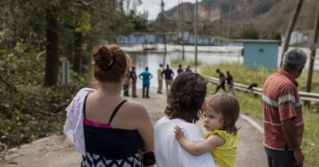 Cracks in a Puerto Rican Dam Send Neighbors a Message: Leave Now - New York Times