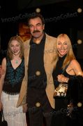 Tom Selleck with wife Jilly Mack and daughter Hannah at the premiere
