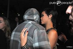Rihanna et Chris Brown, un couple amoureux en 2008
