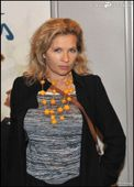 Eva Ionesco lors de la pr�sentation du film Les Adopt�s, � Paris