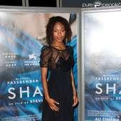 Nicole Beharie Lors De L'avant-première De Shame, Au Cinéma MK2