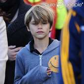 Romeo Beckham Le 18 Mars 2012 Au Home Depot Center De Carson City