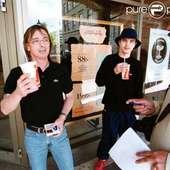 Phil Rudd D'AC DC à Göteborg, Suède, 2001