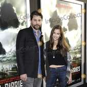 Micah Sloat And Alix Elizabeth Gitter During The Premiere Of The New
