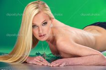 Naked blonde � Stock Photo � Sergii Shalimov #1117524
