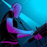 Disc Jockey Mixing Music — Stock Vector © Roman Dekan #3113167