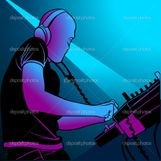 Disc Jockey Mixing Music � Stock Vector � Roman Dekan #3113167