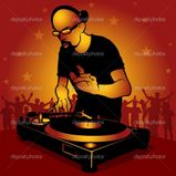 Disc Jockey � Stock Vector � Roman Dekan #3180309
