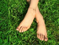 Pedicured beauty feet � Stock Image � Anastasia Vich #3669111