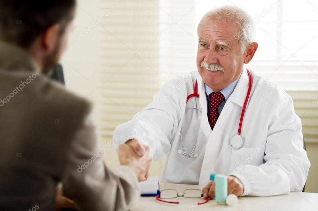Doctor Teaches His Patient About Toys