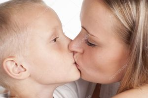 Mom and son kissing | Stock Photo © Ruslan Huzau #6154780