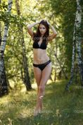 Young undressed brunette � Stock Image � Dmitrii Kotin #5744621