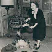 Comedienne Gracie Allen Enters The 1940 Presidential Race