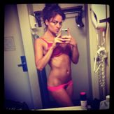 Thread: Maria Kanellis 10/10 (new self taken nonnude bathroom pics)
