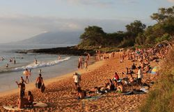 Beach Review: Little Beach, Maui Hawaii USA � Nude Beach � LIttle