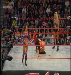 Miss Tessmacher & Tara Cleavage TNA BFG 2012