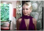 Barbara Eden in a tasteful cocktail dress
