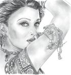Aishwarya Rai Pencil drawings images