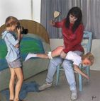 The Spanking Art of Lee Warner #