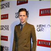 Bill Skarsgard Hits The Red Carpet At The Premiere Of His New Show